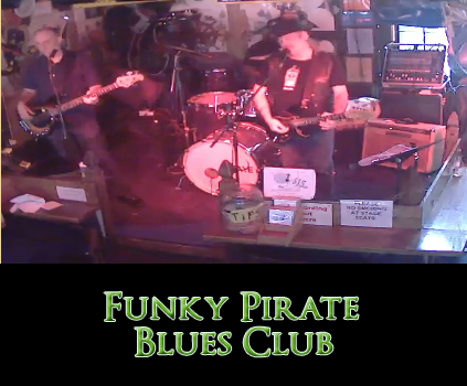 Funky Pirate at 727 Bourbon Street Live Web Cam Streaming